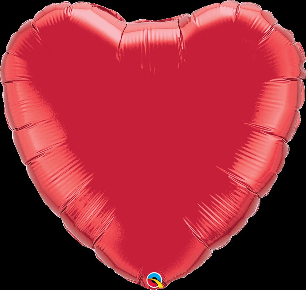 Hartjesballon voor Valentijnsdag