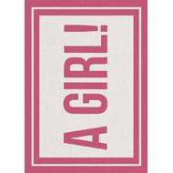 Geboortekaartje Girl