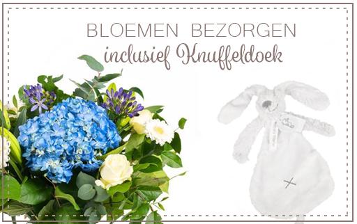 Bloemen bezorgen Knuffel