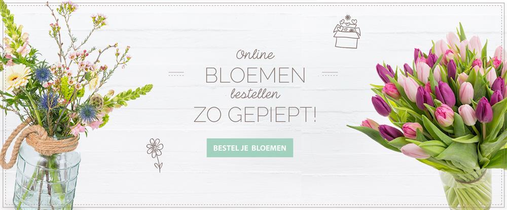 Banner Bloemen bestellen