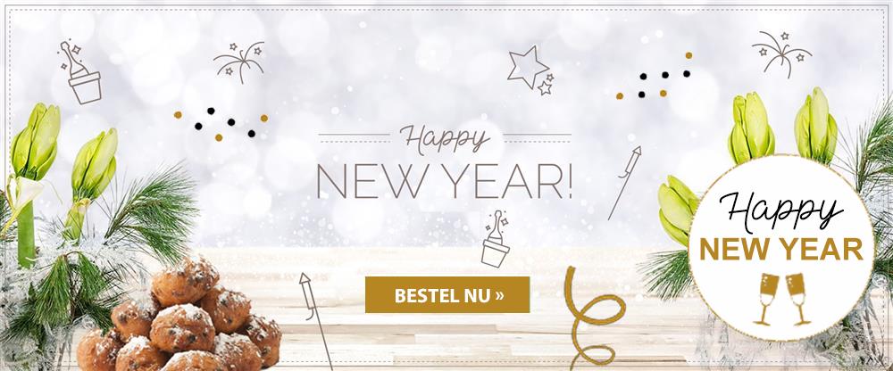 Nieuwjaars banner