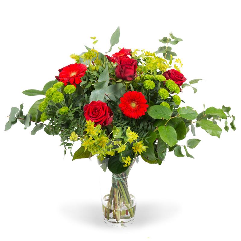 Valentijnsboeket Red Jewel