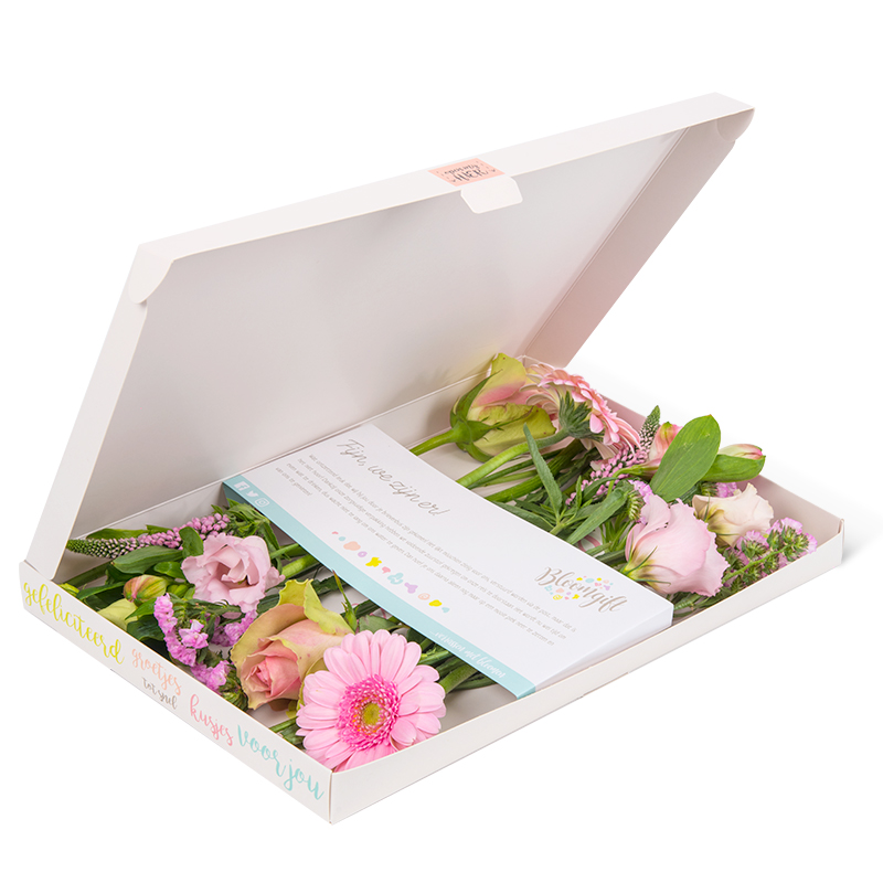 Bloomgift brievenbusbloemen